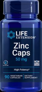 zinc caps